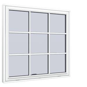 Glidhängt fönster